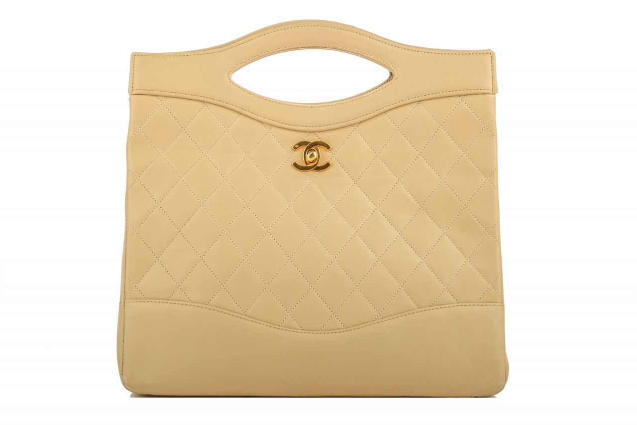 Chanel 31 Handtasche Beige