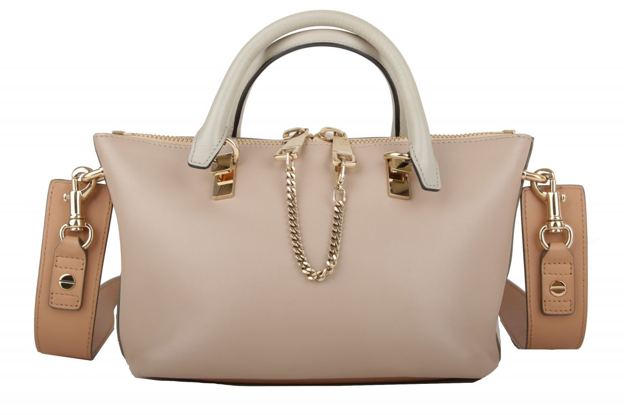 Chloé Baylee Two Tone Schultertasche Small