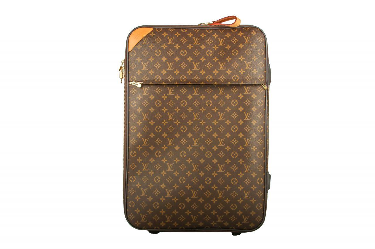 Louis Vuitton Suitcase Pégase 70 Monogram Canvas