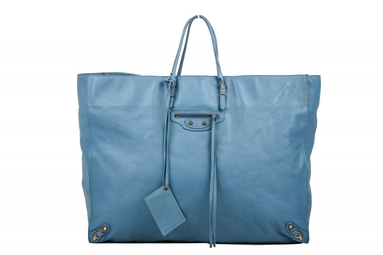 Balenciaga Shopper Blau/Grau