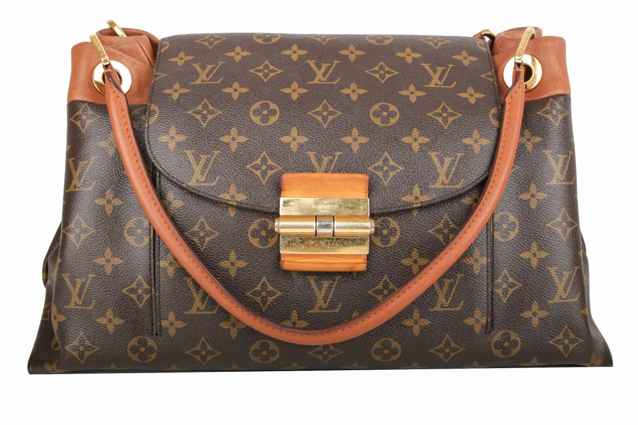 Louis Vuitton Olympe Monogram Canvas Camel