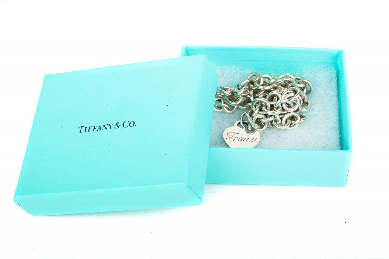 "Return to Tiffany Heart Tag Choker Sterling Silber ""Franzi"""