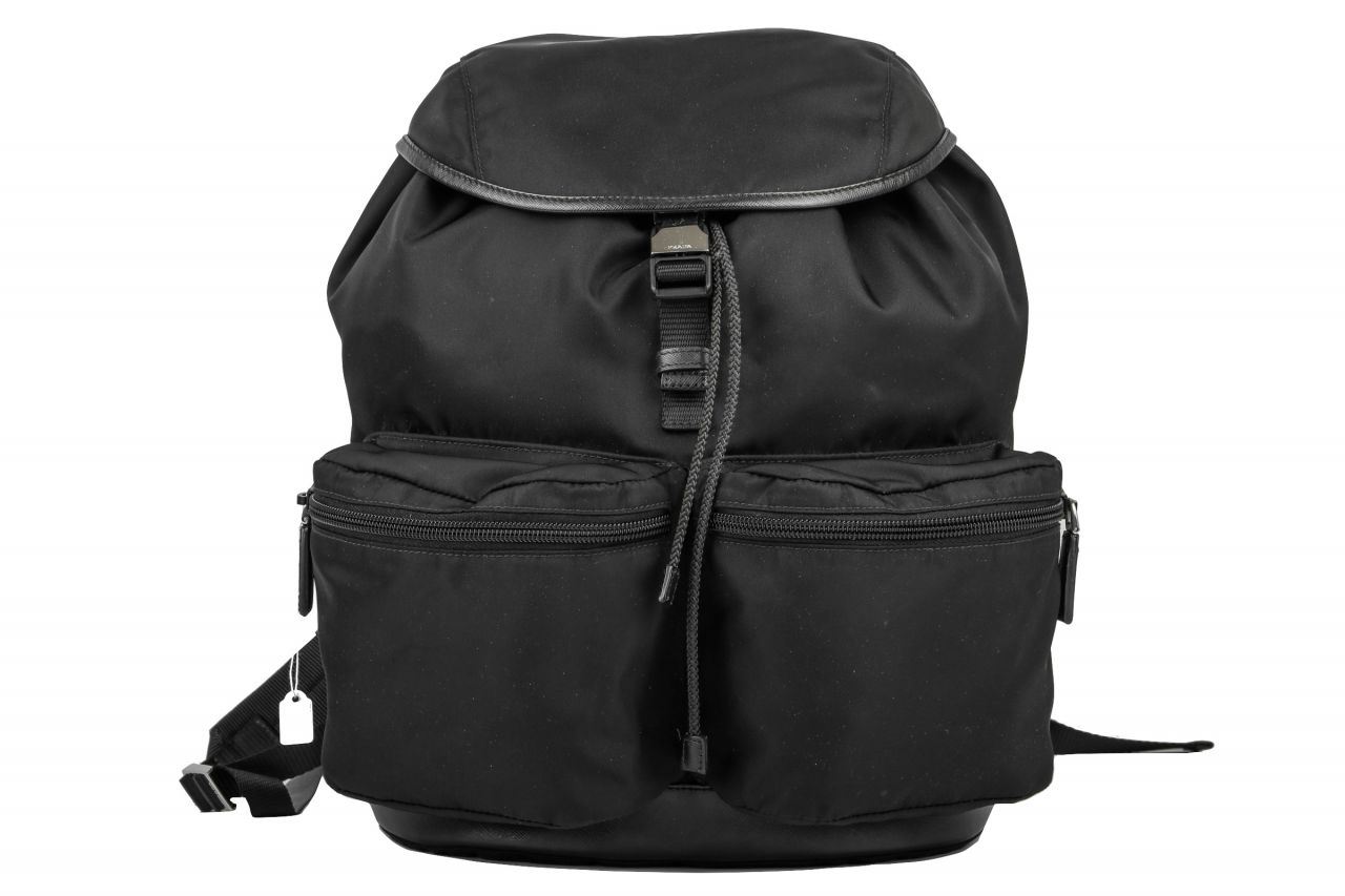 Prada Nylon Backpack Black