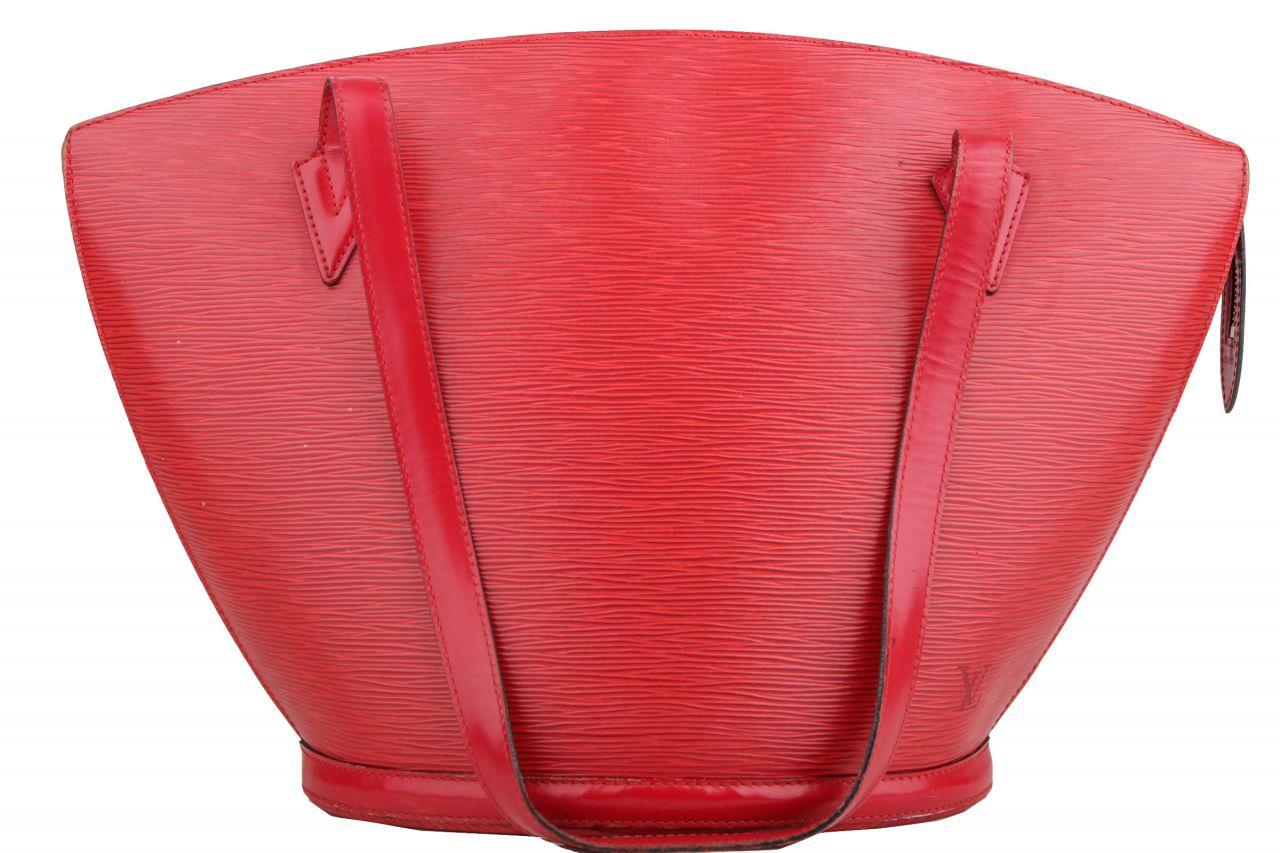 Louis Vuitton Saint Jacques GM Epi Leder Rot