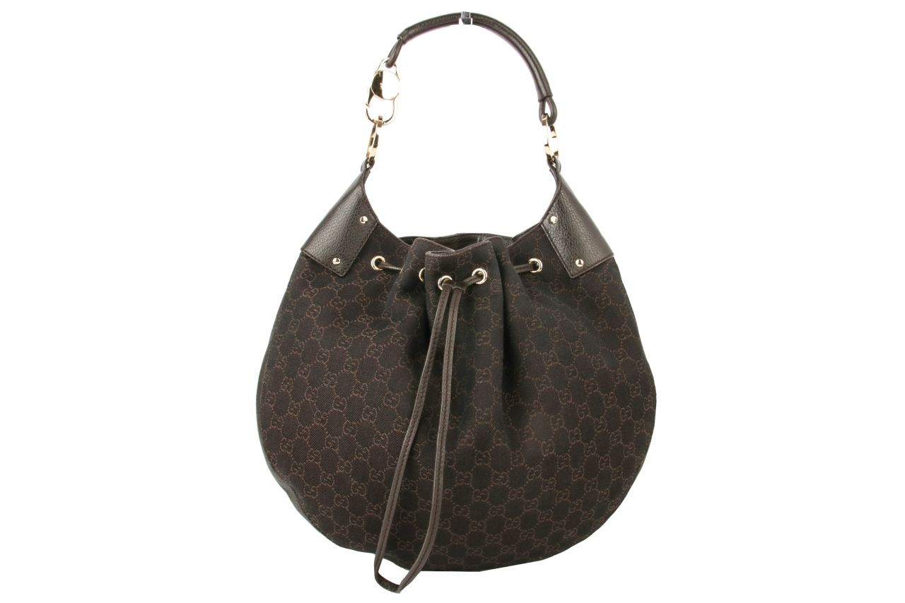 Gucci Hobo Bag Guccissima Braun