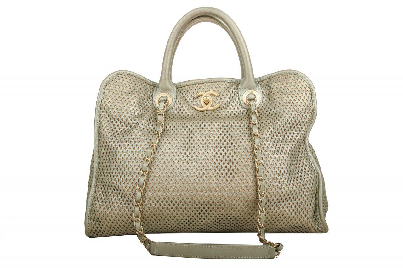 Chanel Vintage Bag Metallic