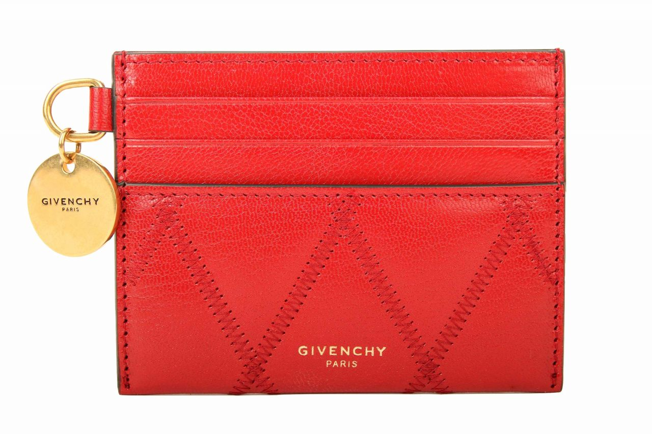 Givenchy gestepptes Kartenetui