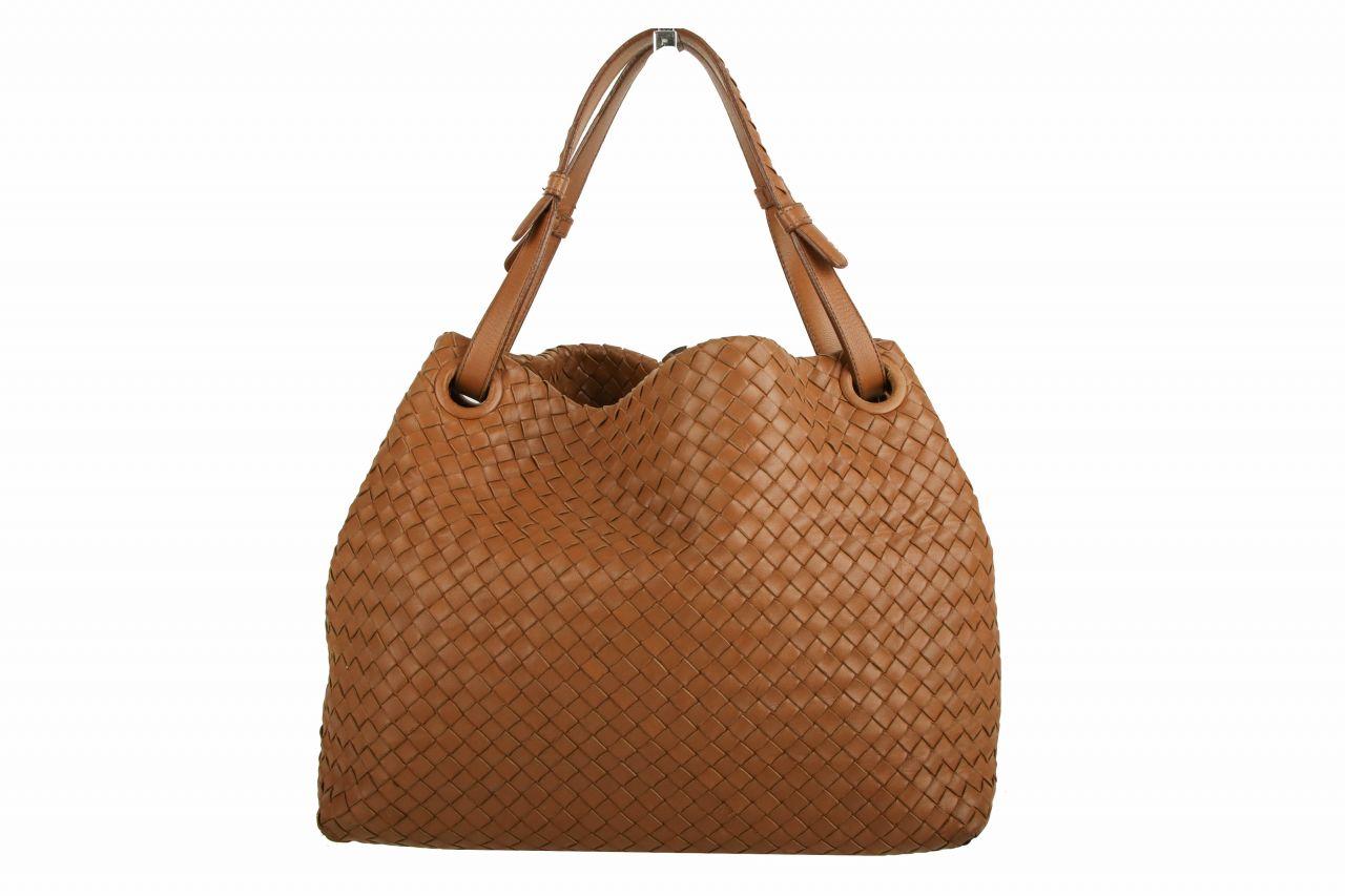 Bottega Veneta Tote Bag Cognac