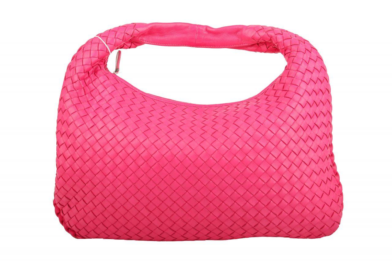 Bottega Veneta Hobo Bag Nappaleder Intrecciato Small Pink