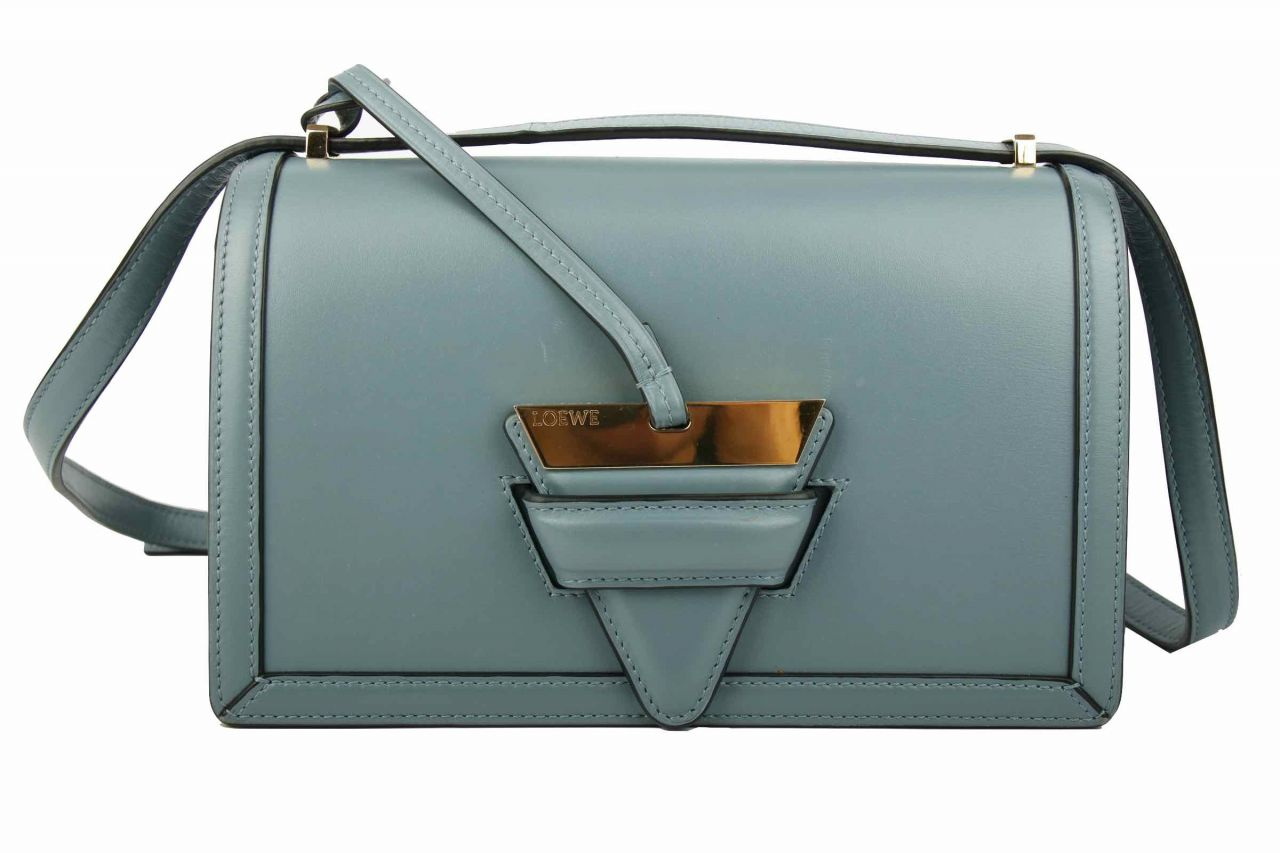 Loewe Barcelona Shoulder Bag Blue
