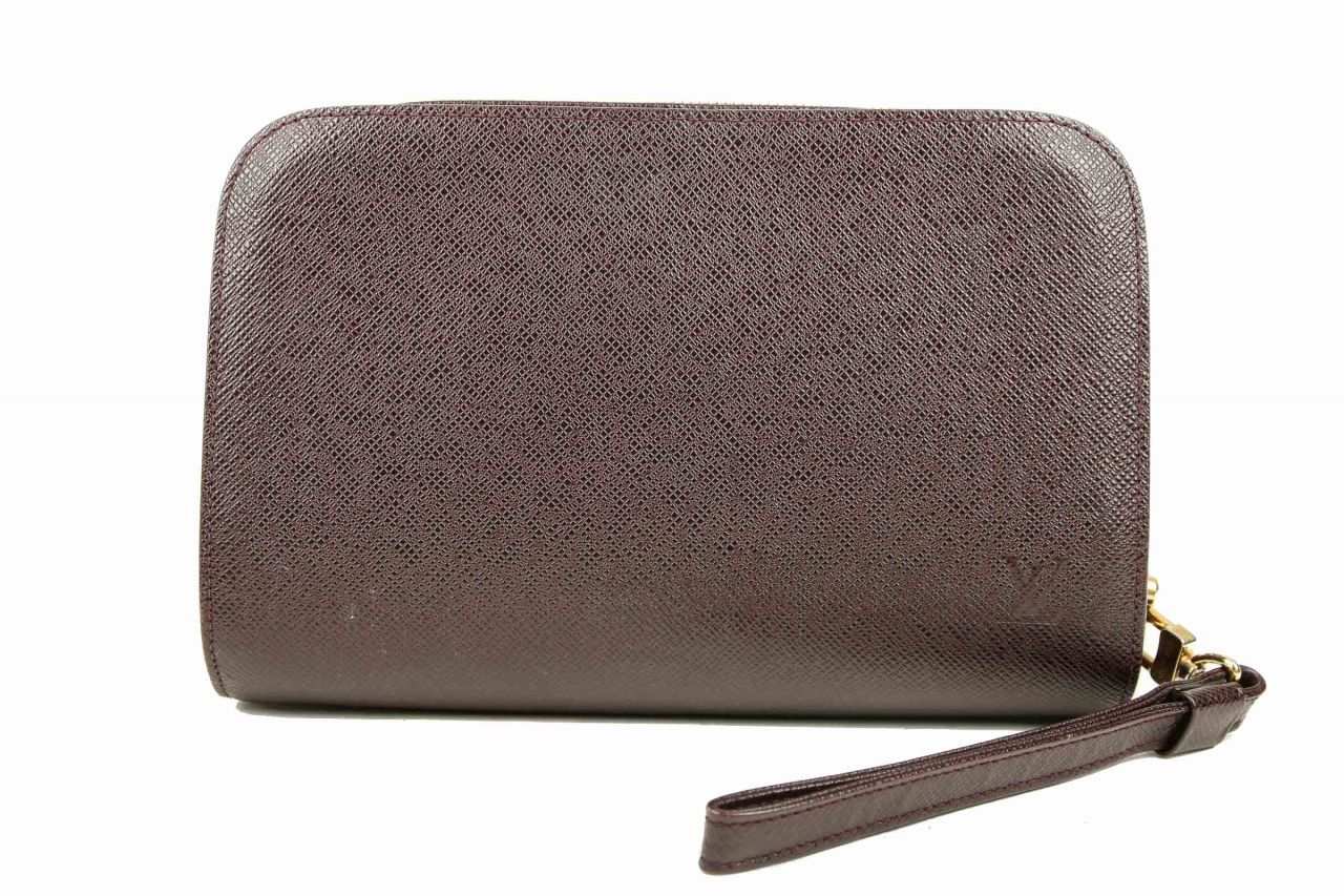 Louis Vuitton Pochette Baikal Leder Braun