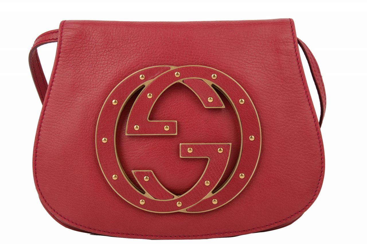 Gucci Crossbody Bag in dunkelrot