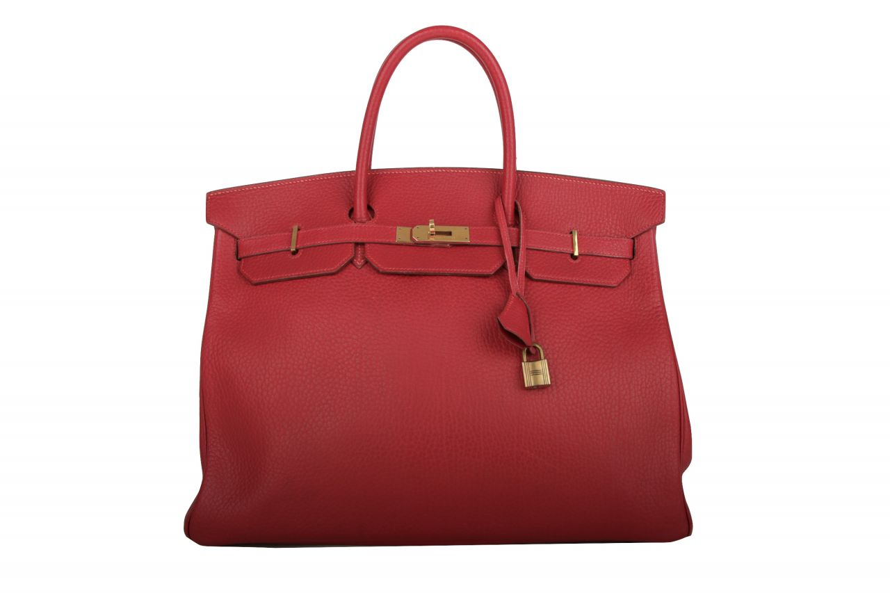 Hermès Birkin 40 Rouge VIF