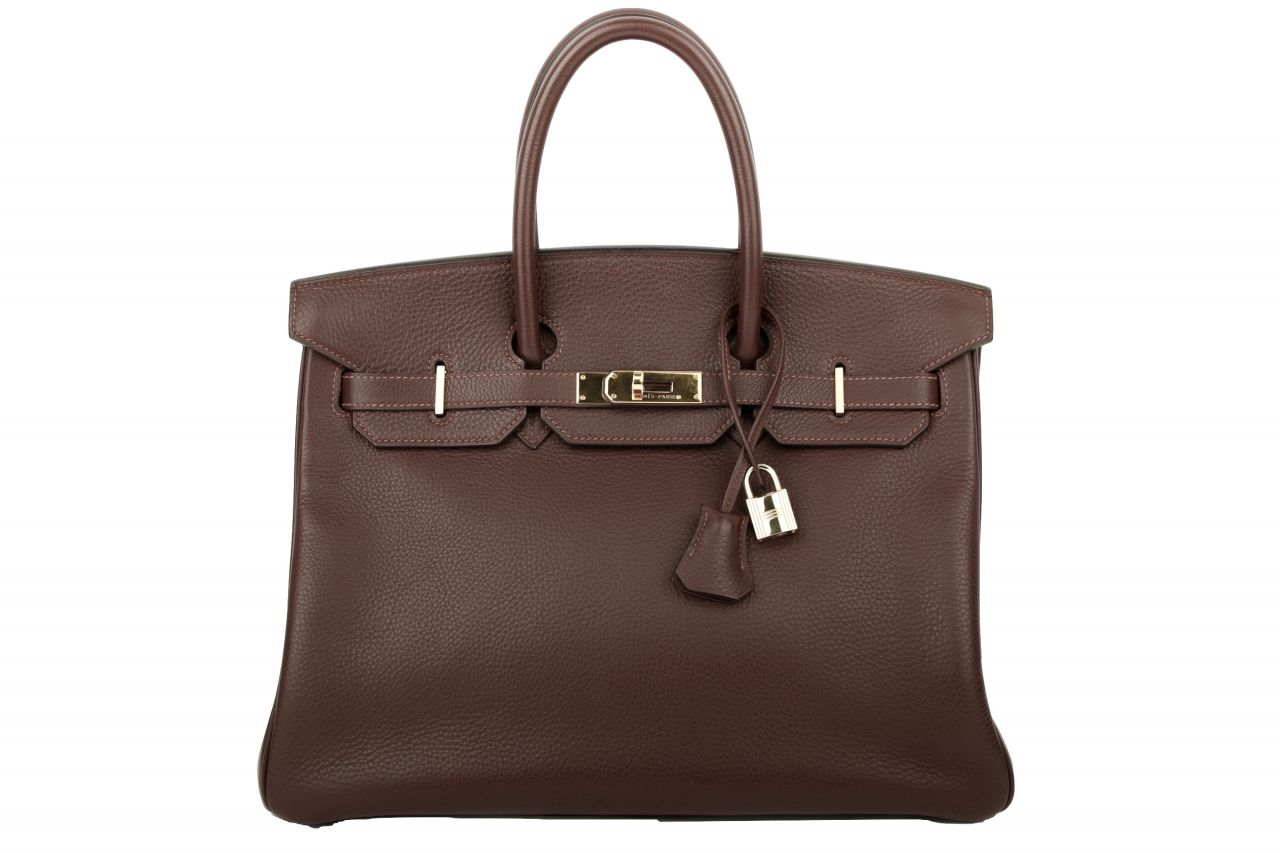 Hermès Birkin Bag 35 Havanna Clemence