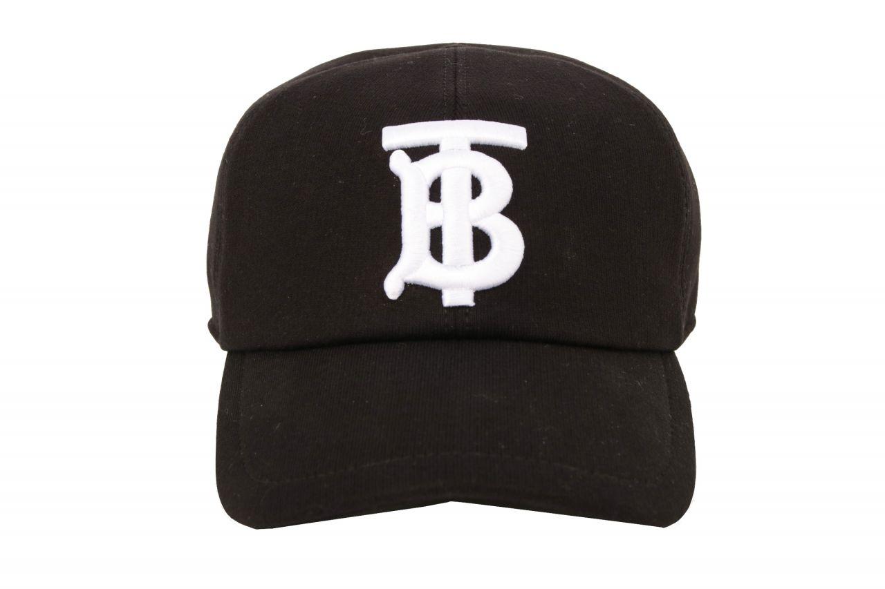 Burberry Cap Logo Schwarz