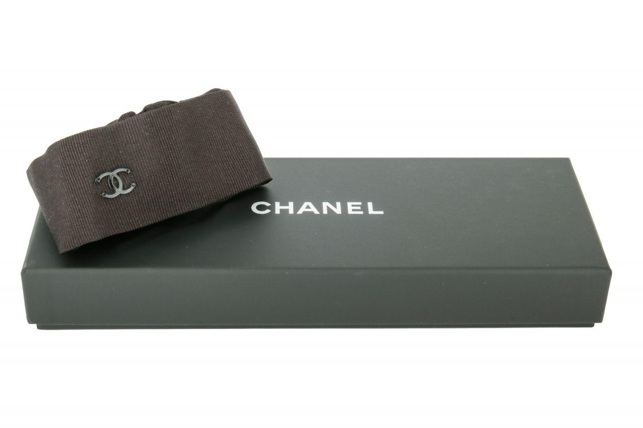 Chanel Haarband Schwarz