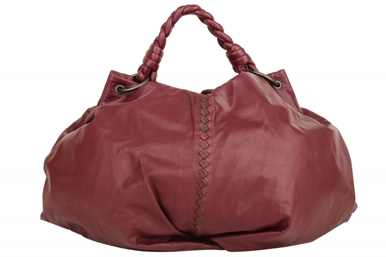Bottega Veneta Large Hobo Bag Aubergine