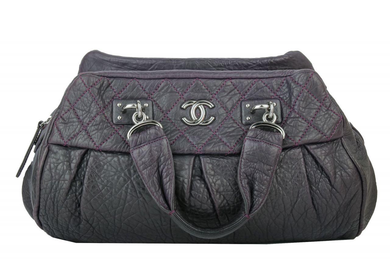 Chanel Bowling Bag Lila