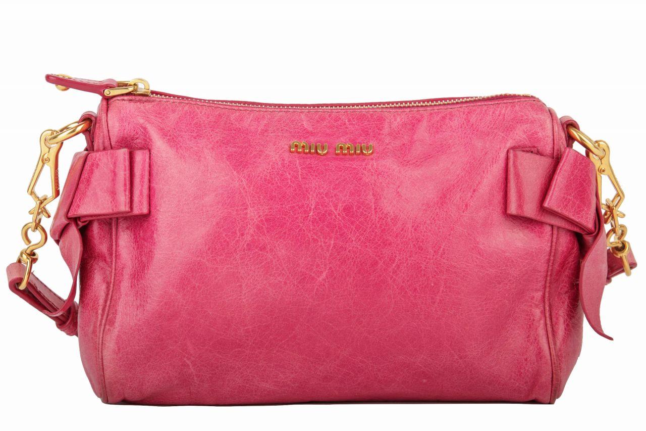 Miu Miu Mini Bow Bag Pink