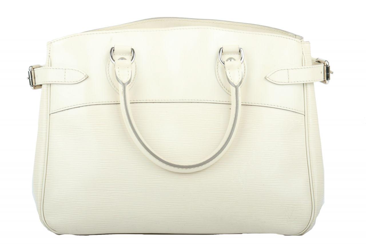 Louis Vuitton Passy PM Epi Leder Weiß