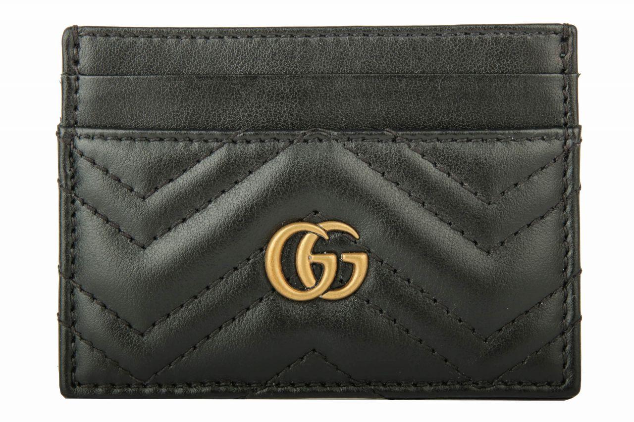 Gucci GG Marmont Kartenetui Schwarz