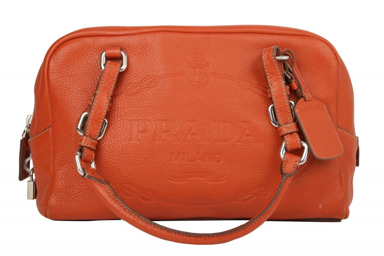 Prada Handtasche Orange