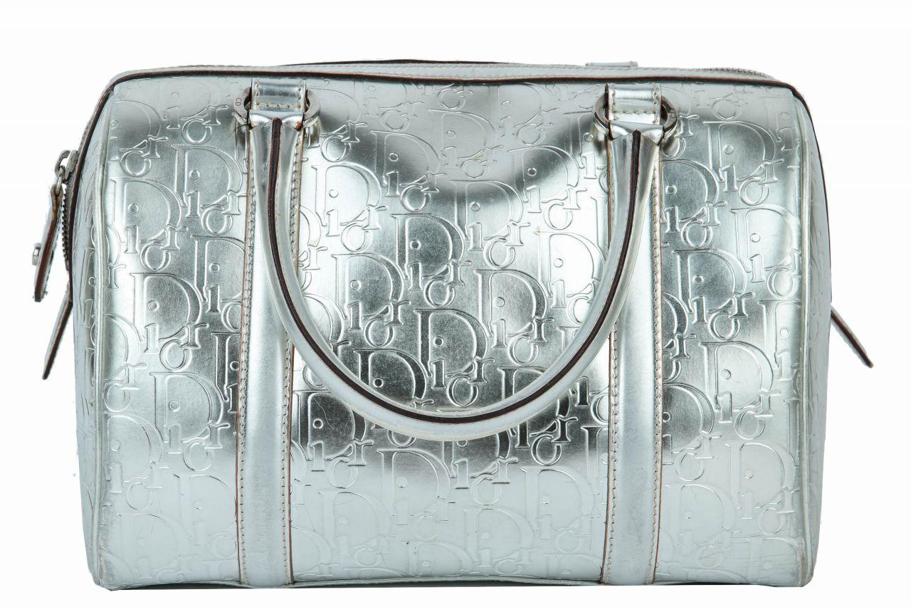 Dior Bowling Bag Silber