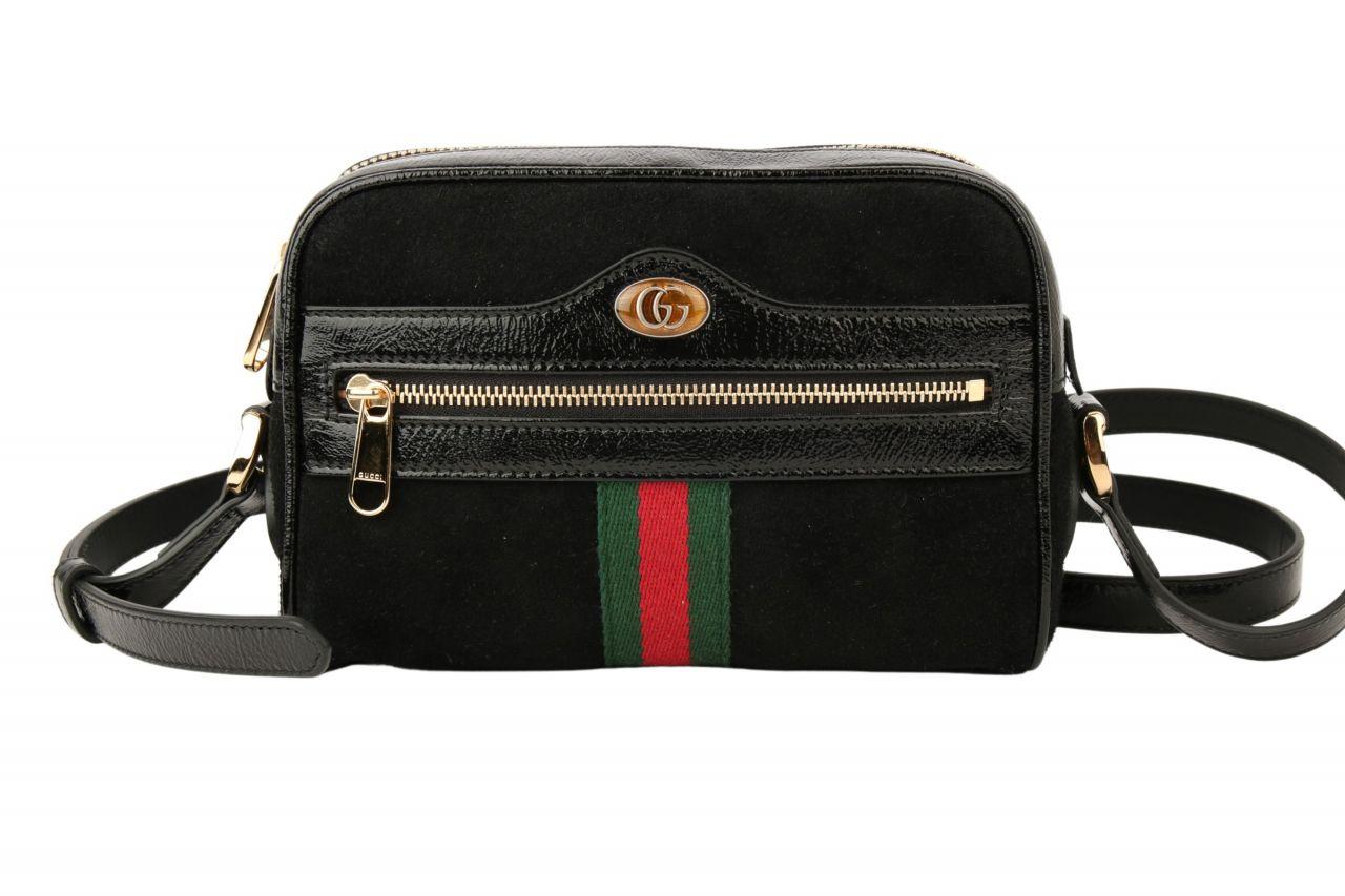 Gucci Ophidia Mini-Tasche Schwarz
