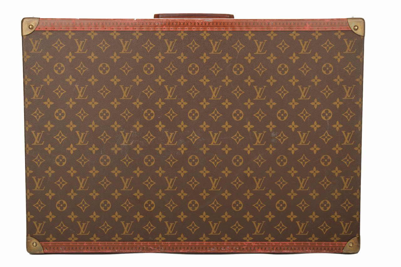 Louis Vuitton Vintage Koffer 60 Monogram Canvas