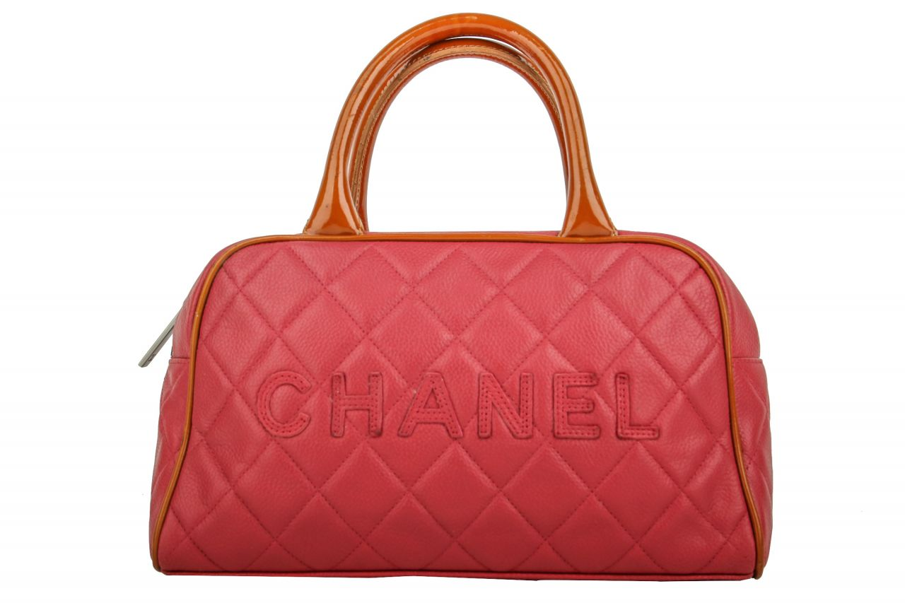 Chanel Vintage Handtasche Rosa