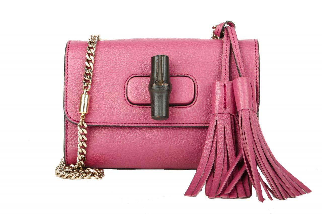 Gucci Mini Bamboo Chain Strap Bag