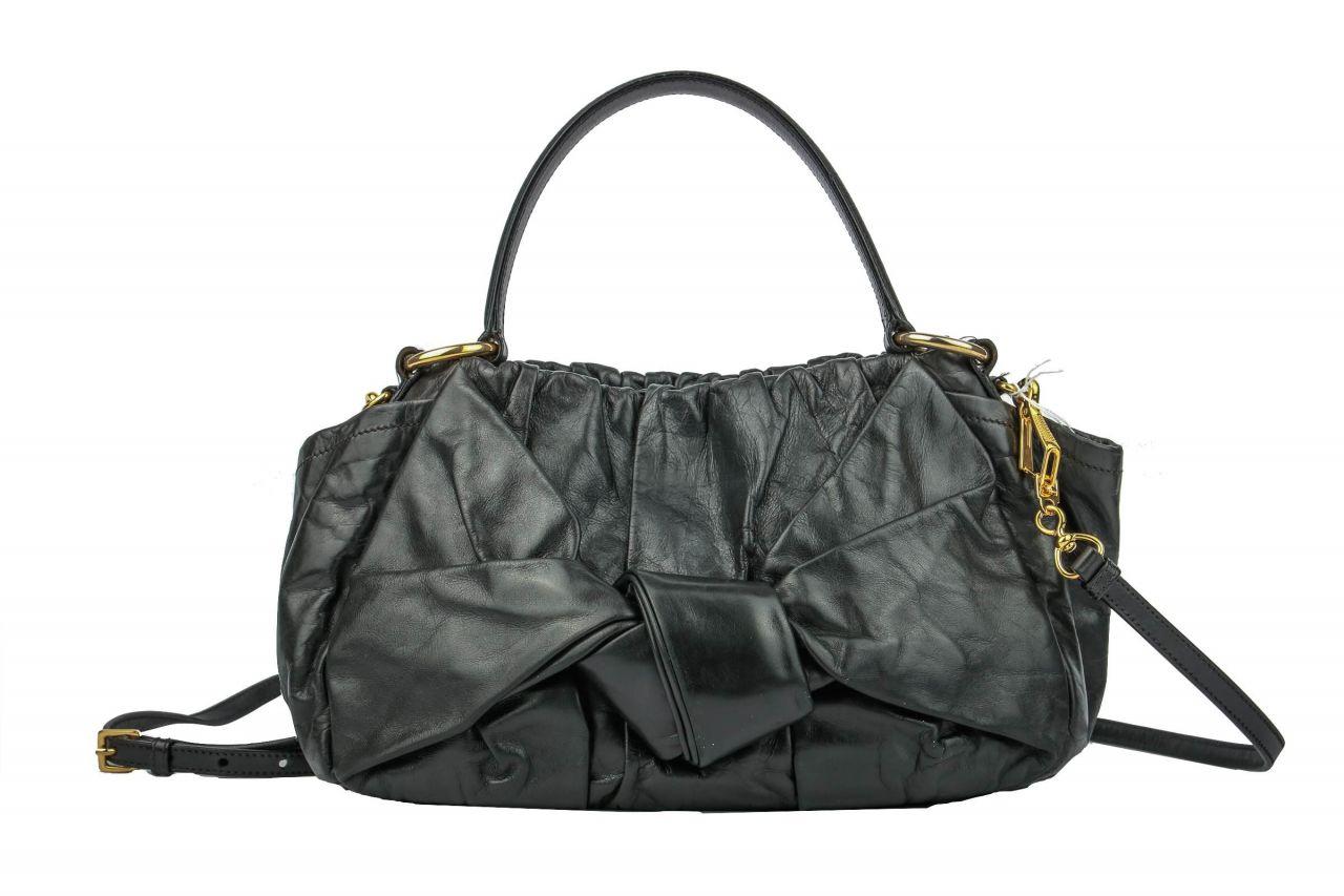 Prada Dressy New Look Handtasche Schwarz