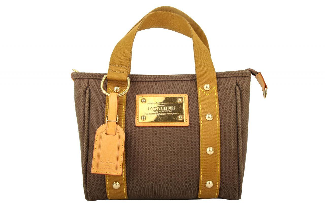 Louis Vuitton Antigua Cabas PM Braun/Khaki