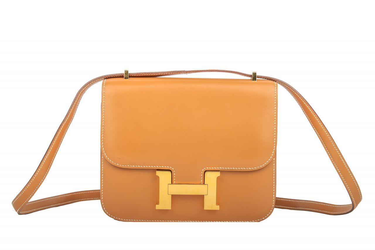 Hermès Constance Mini Camel