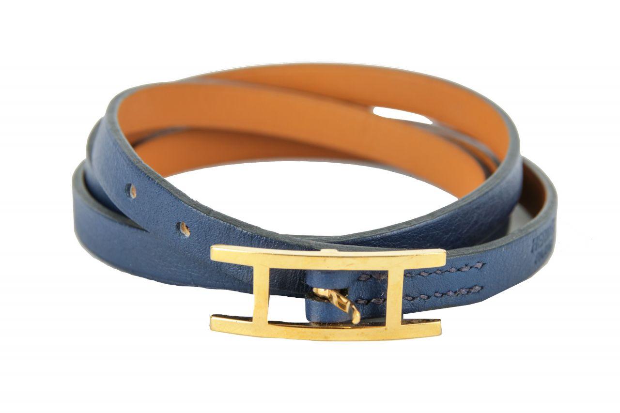 Hermès Armband Behapi Triple Tour Größe T2
