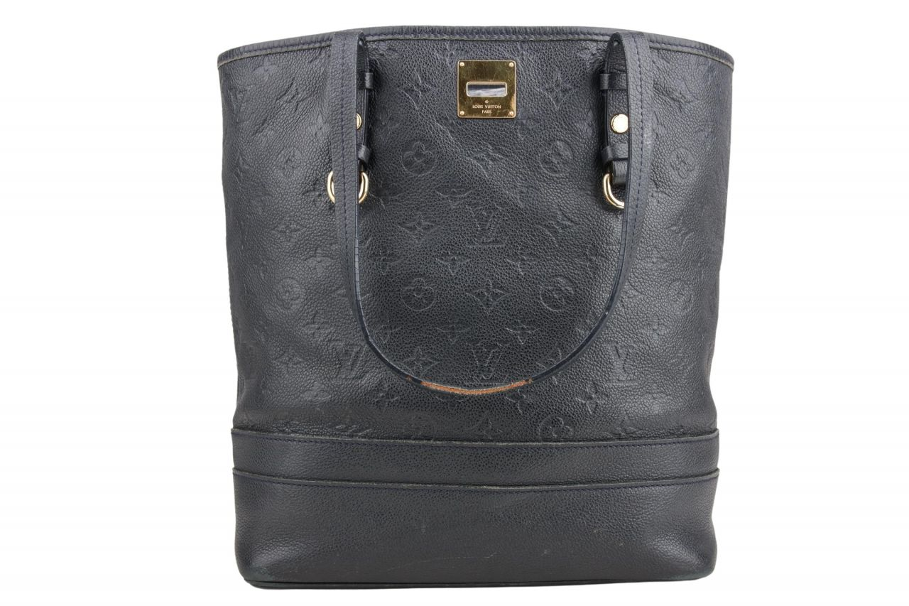 Louis Vuitton Citadine PM Monogram Empreinte Navy Blue