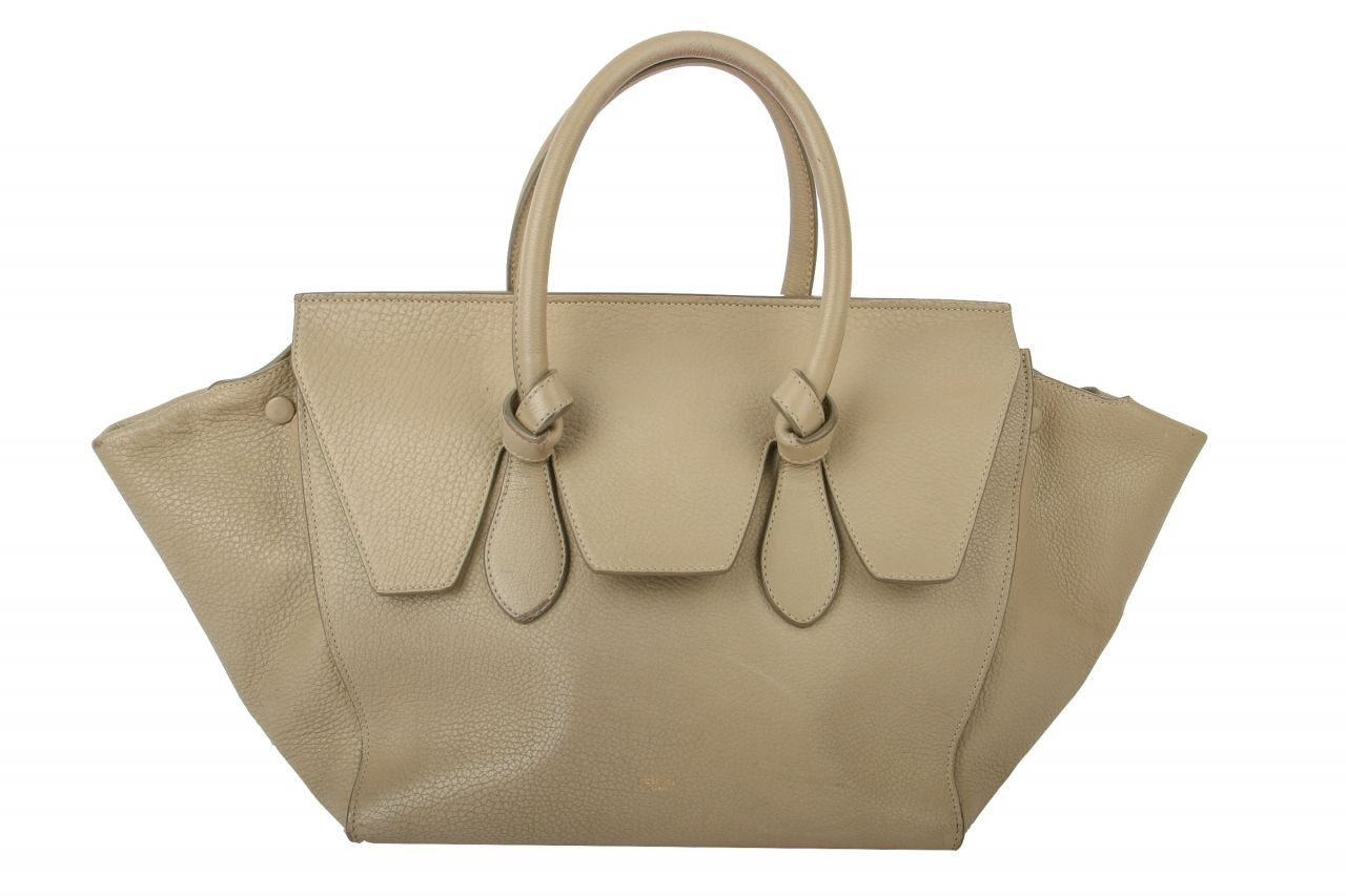Céline Krawatte Bag inkl Pochette Tasche Beige