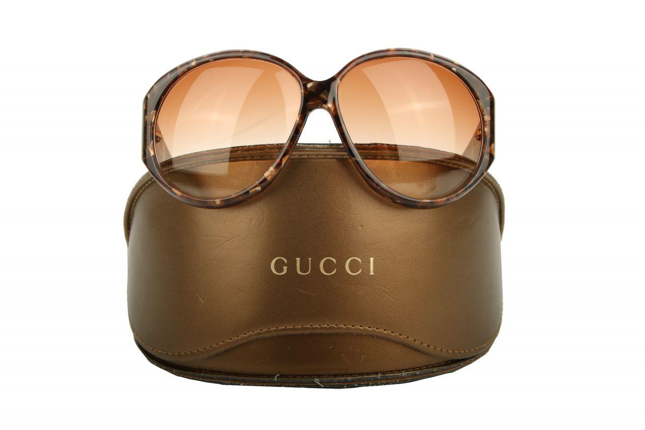 """Gucci Sonnenbrille """"GG 2297"""" Strass Braun"""