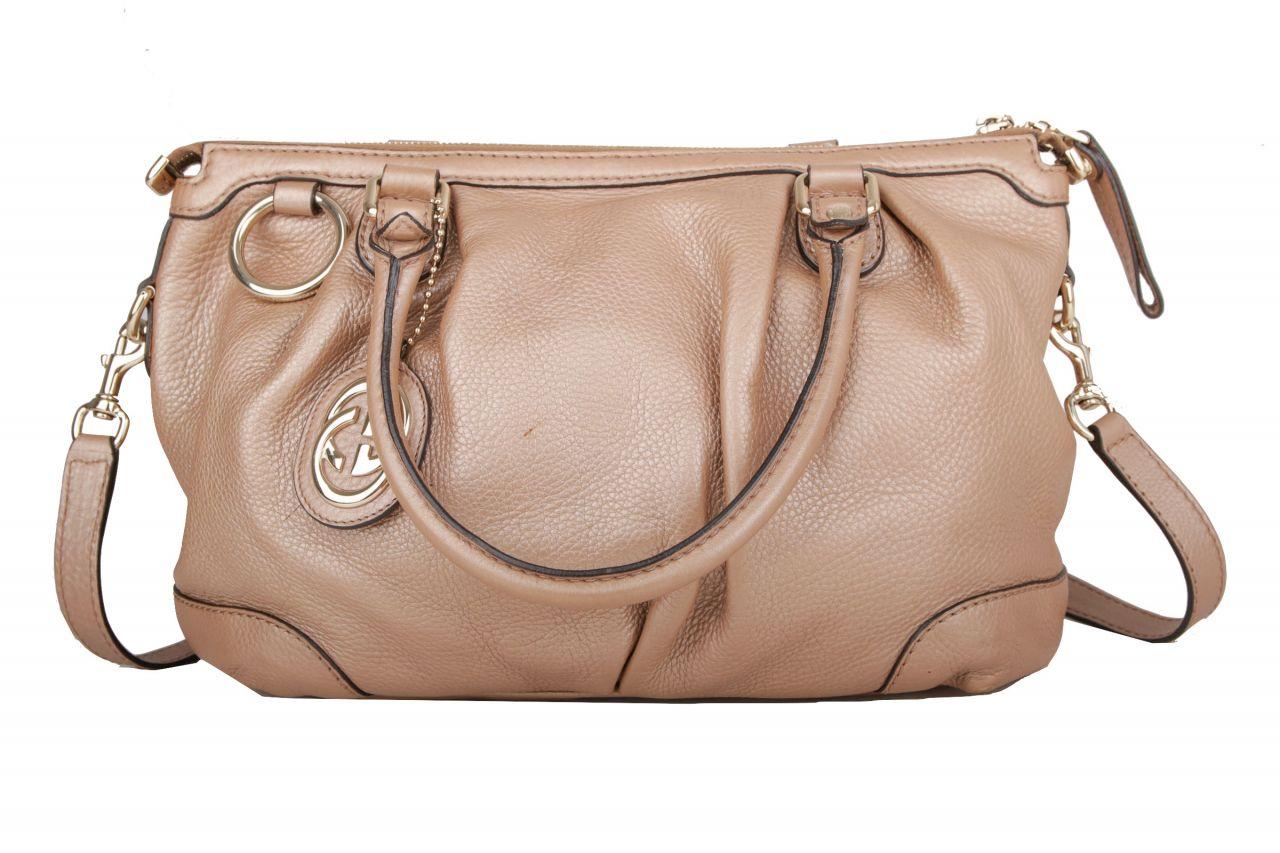 Gucci Top Handle Bag Gold