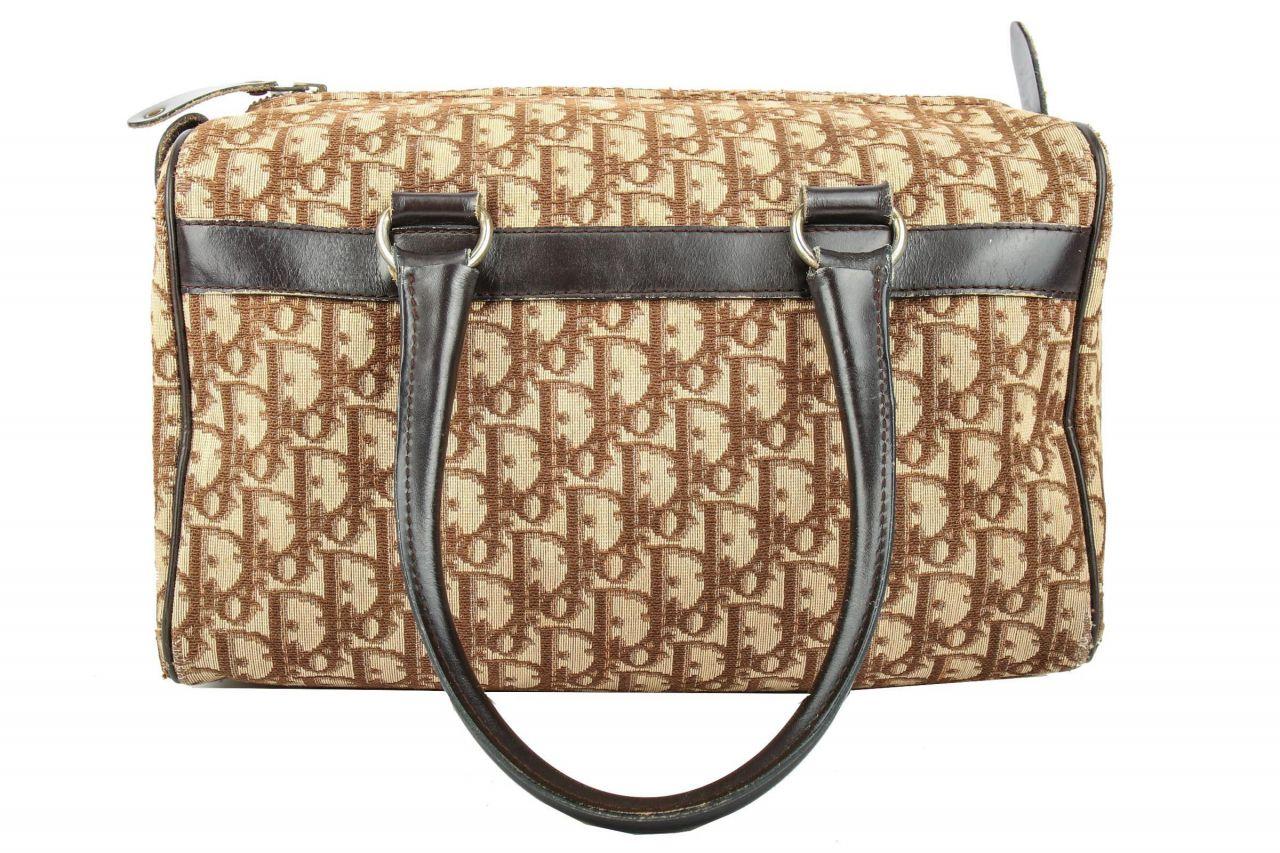Dior Bowling Bag Braun