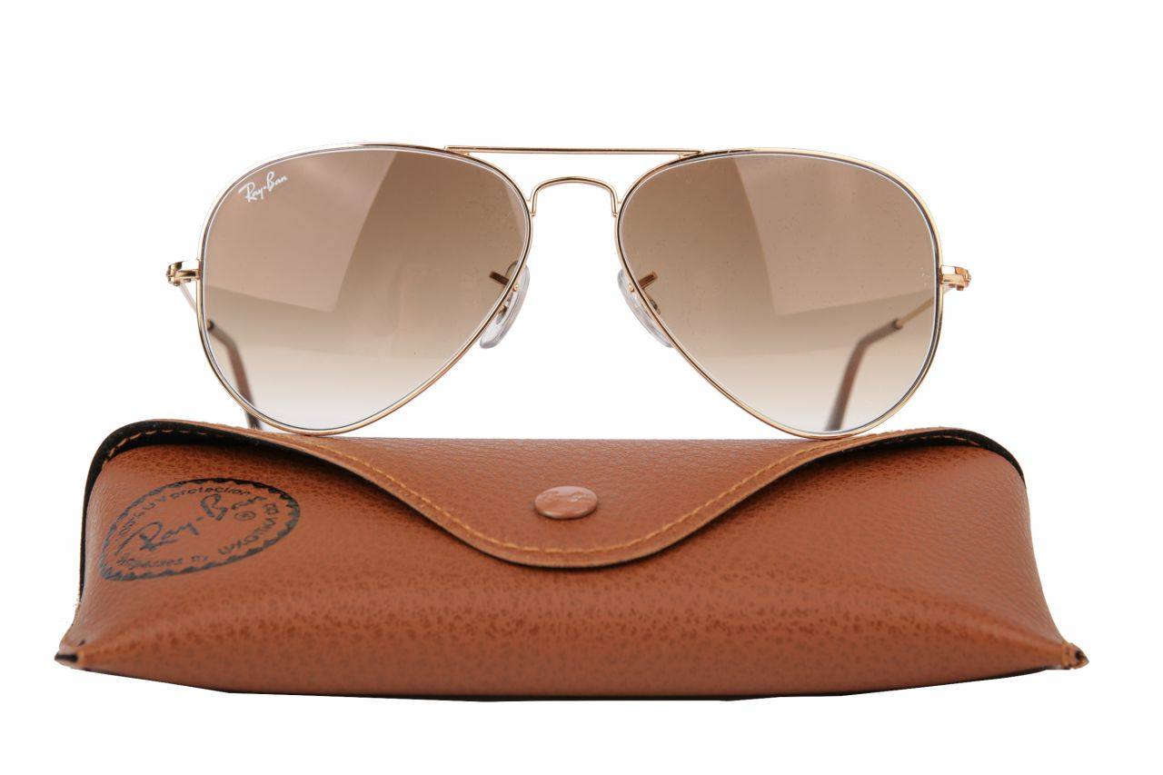 Ray Ban Aviator Large Gold RB3025