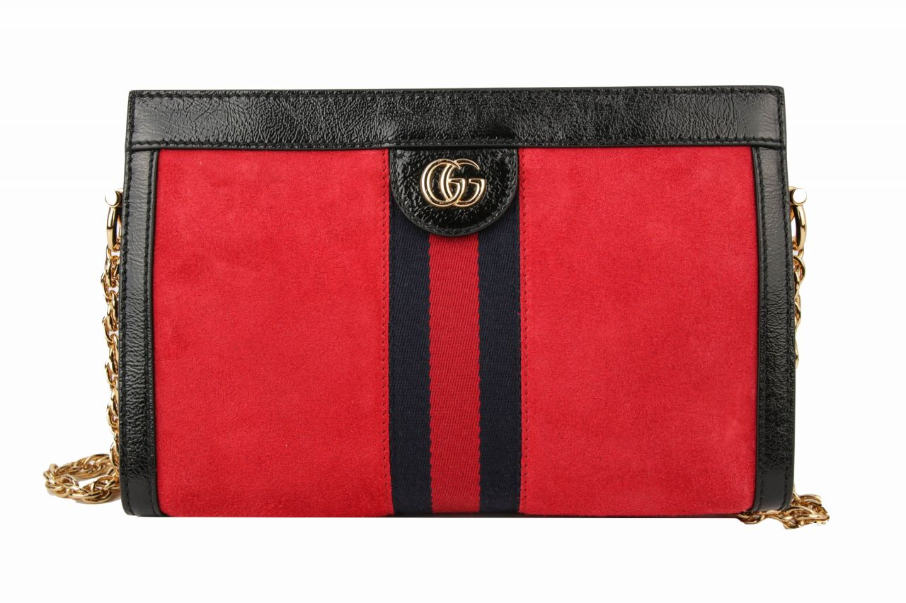 Gucci Ophidia Wildleder Rot