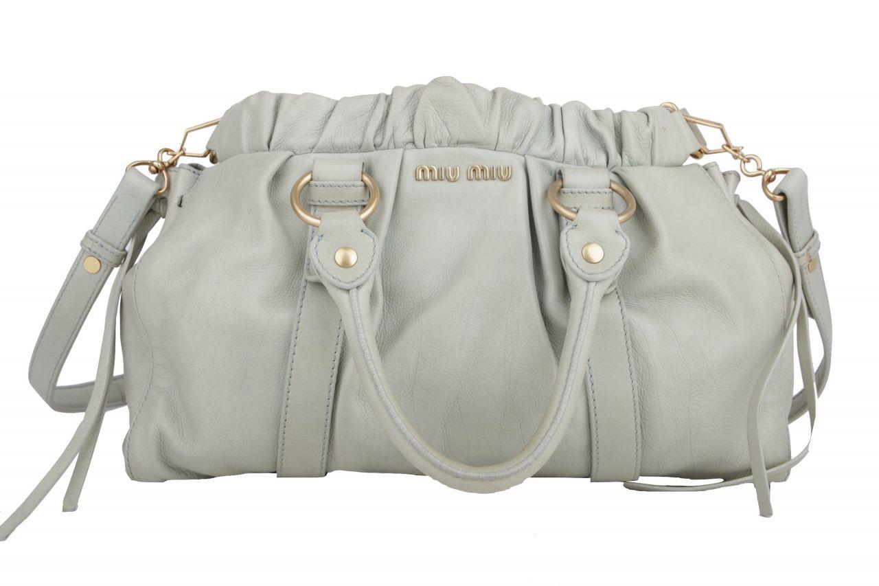 Miu Miu Handtasche Mintgrün