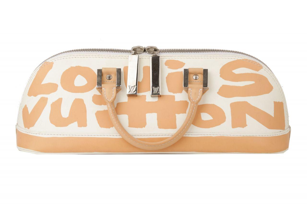 Louis Vuitton Alma Horizontal Limited Edition Graffiti Beige