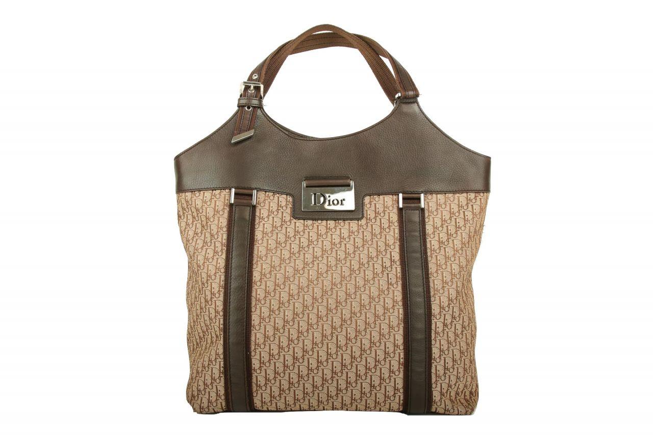 Dior Shopper Canvas Braun