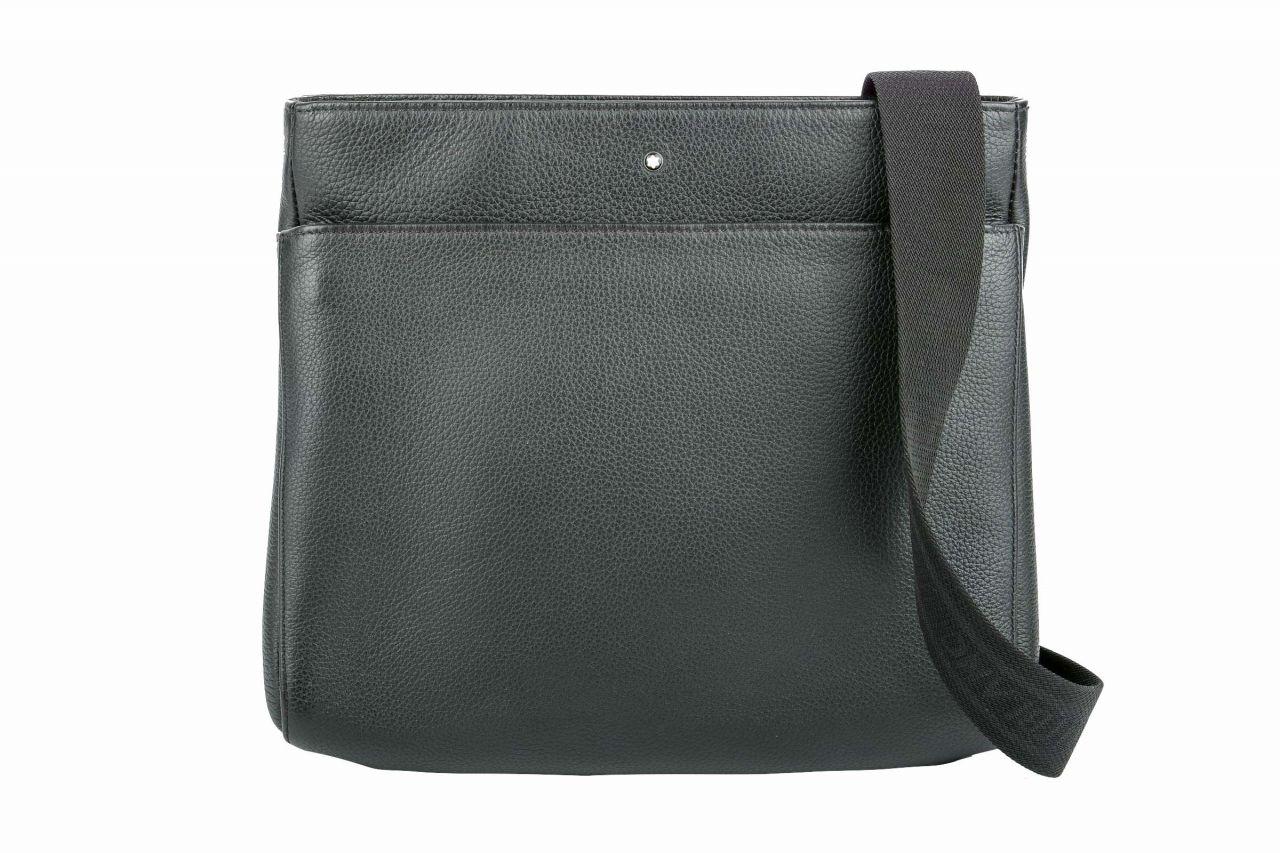 Mont Blanc Soft Grain Envelope Bag Black