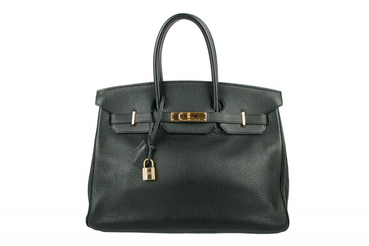 Hermès Birkin Bag 35 Togo Bijou Noir