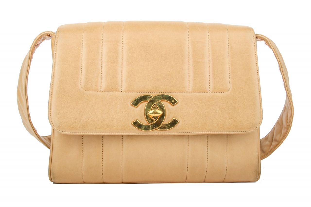 Chanel Messenger Bag Beige