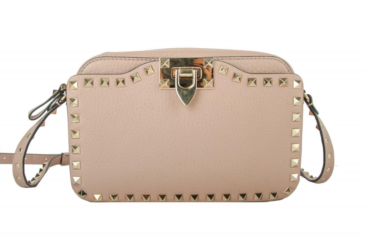 Valentino Rockstud Camera Bag Puder