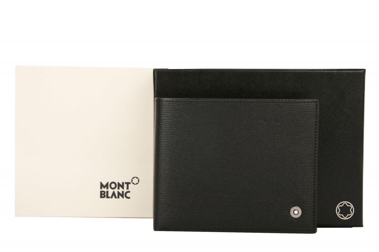 Mont Blanc Westside Brieftasche schwarz